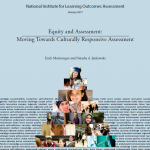 NILOA Occasional Paper 29 – Equity and Assessment: Moving Towards Culturally Responsive Assessment