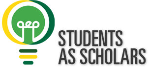 Students as Scholars at GMU logo