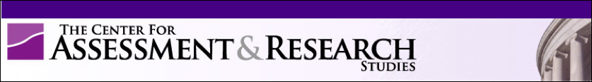 Center for Assessment and Research Studies logo