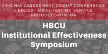 HBCU Institutional Effectiveness Symposium